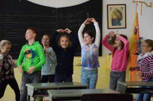 English class- Waldorf school